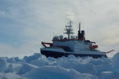 Polarstern in the ice